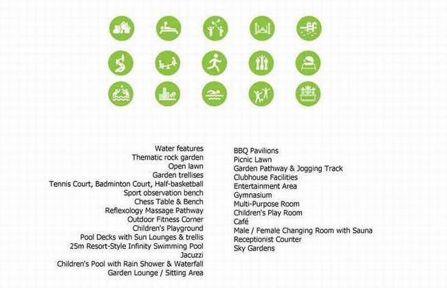 Hệ thống 29 tiện ích nội, ngoại khu vượt trội ngay tại dự án Palm Heights quận 2