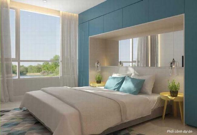 Nhà mẫu căn hộ Palm Heights cho thuê