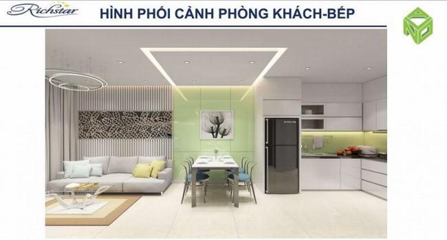 Phòng bếp Căn hộ Richstar Tân Phú